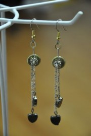 38 Special Heart Dangle Earrings