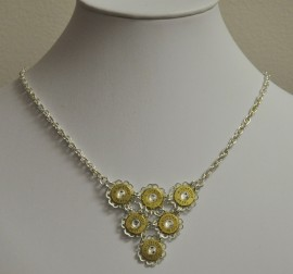 38 Special and Filigree Bib Necklace