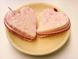 Oops!Valentine Splatter Soap