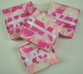 Pink Camo Soap in Floral Garden Scent